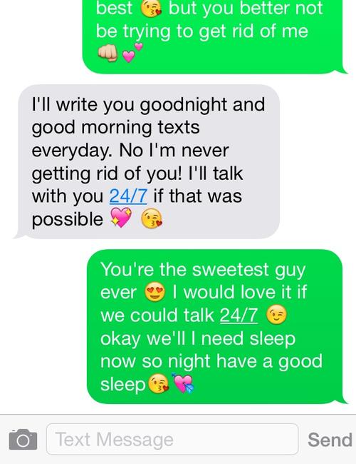 How To Show Him I Care Through Text