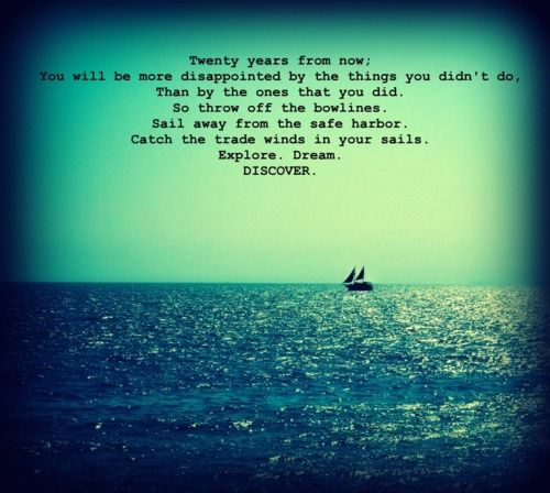 Inspirational Quotes Sailing: Boating Quotes And Sayings. QuotesGram