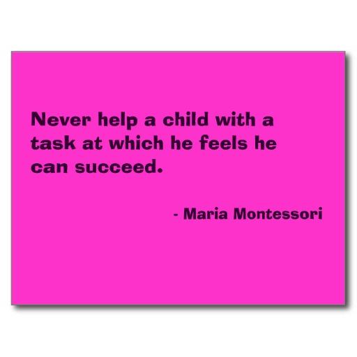 Montessori Philosophy: Nature- Nurturer to the Whole Child