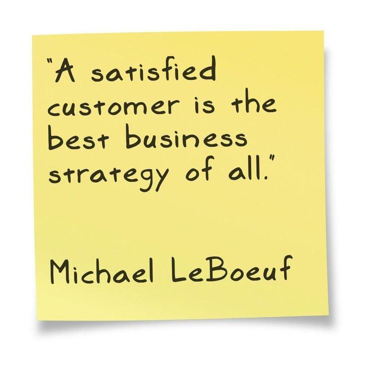 Customer Appreciation Quotes: Customer Satisfaction Quotes. QuotesGram
