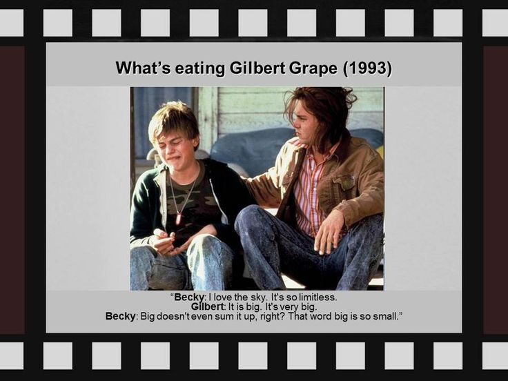 character analysis from whats eating gilbert grape People invited to a presentation do not need a prezi account psycological analysis of what's eating gilbert grape eating gilbert grape i want a new thing.