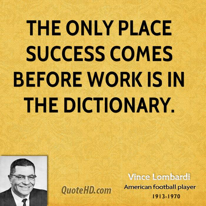 Vince Lombardi Quote: Top 10 Vince Lombardi Quotes. QuotesGram