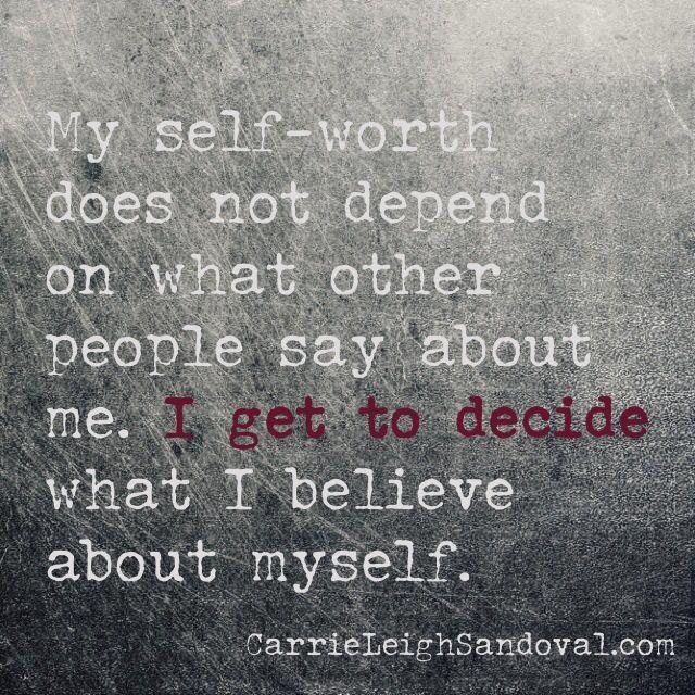 Positive Self Esteem Quotes: Self Worth Quotes For Teens. QuotesGram