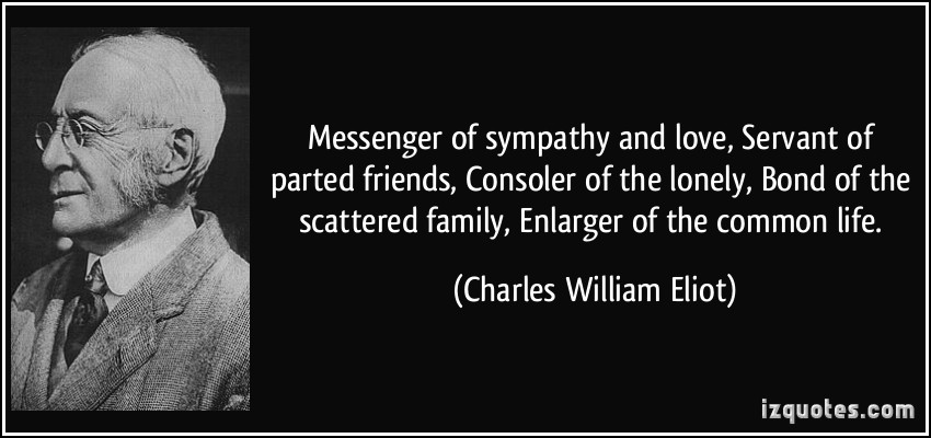 CHARLES WILLIAM ELIOT (1834-1926)