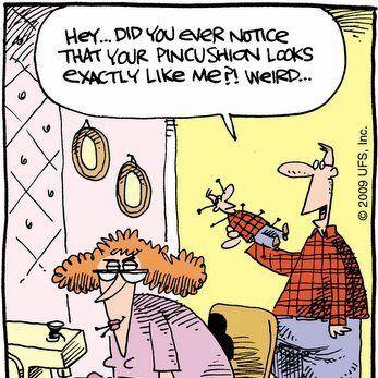 Quilting Cartoon