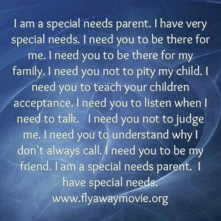 Special Needs Quotes: Quotes For Special Needs Parents. QuotesGram