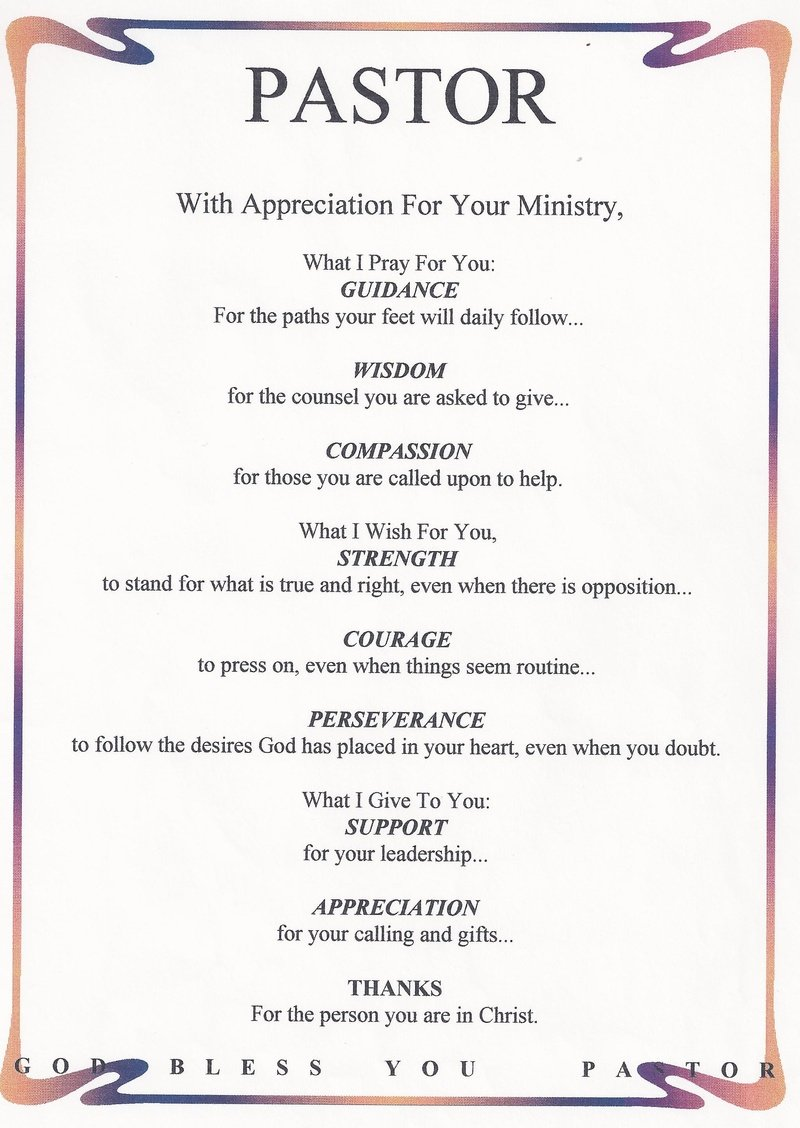 pastor appreciation poems or quotes  quotesgram