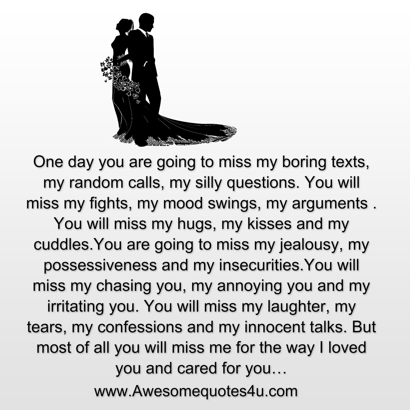 Will You Miss Me Quotes. QuotesGram