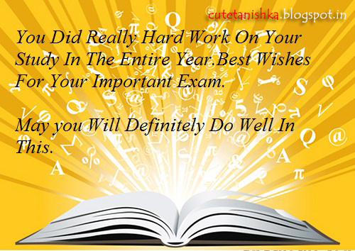 Inspirational Exam Poems: Best Wishes and Good Luck