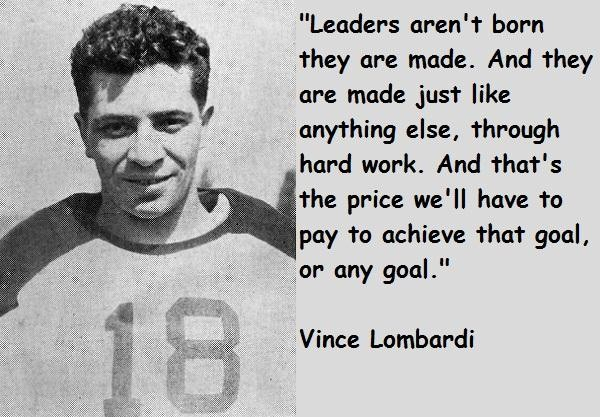 inspirational football quotes vince lombardi quotesgram