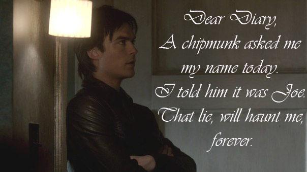 Funny Damon Quotes Vampire Diaries. QuotesGram