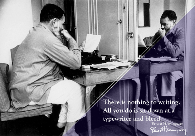On Writing, Books, and Advice from Ernest Hemingway