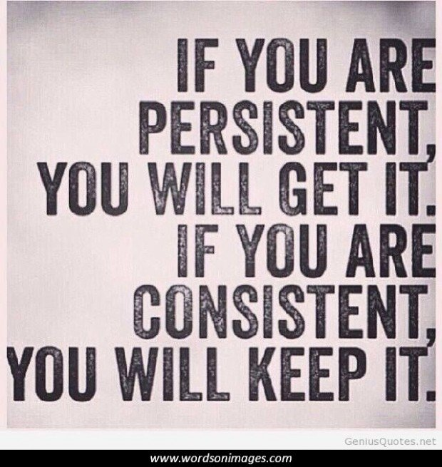 Motivational Quotes Consistency: Funny Quotes About Consistency. QuotesGram