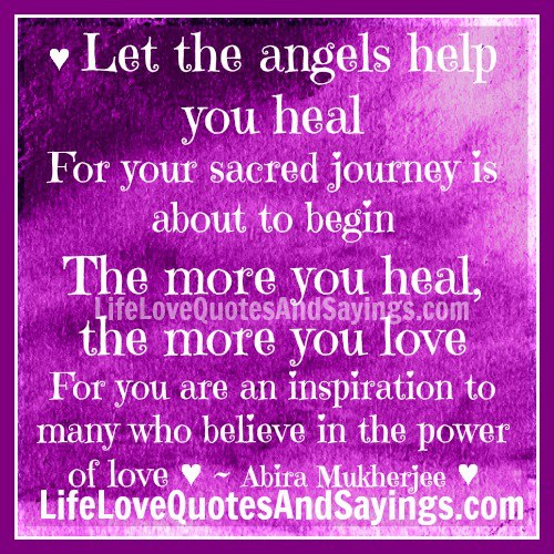 Love Finds You Quote: Angel Love Quotes. QuotesGram
