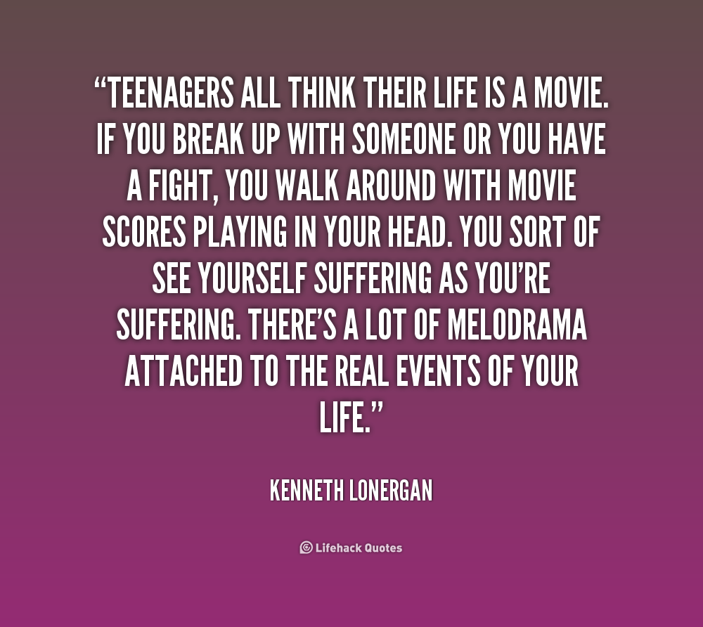 Messed Up Life Quotes: Movie Quotes For Teenagers. QuotesGram