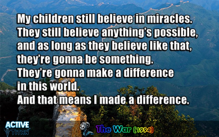 """making a difference in the world Question : what are some alternative ways of saying make a difference """"this phrase just sounds so overused  changing the world (for the better)."""