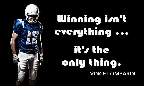 winning is not everything essay