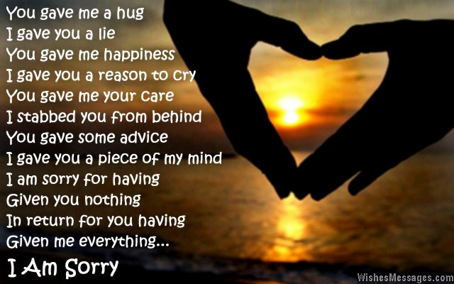 Sorry Mom Poems Quotes Quotesgram