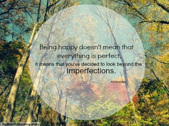 perfect imperfection quotes quotesgram