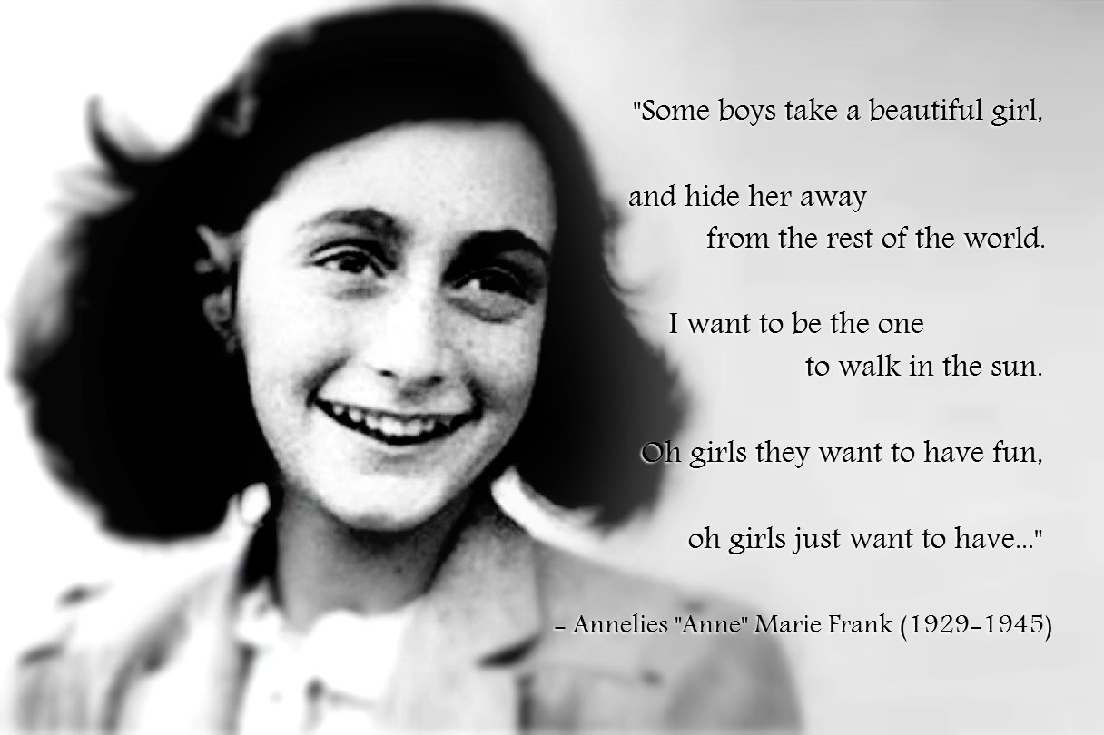 Anne Frank: 10 beautiful quotes from The Diary of a Young Girl