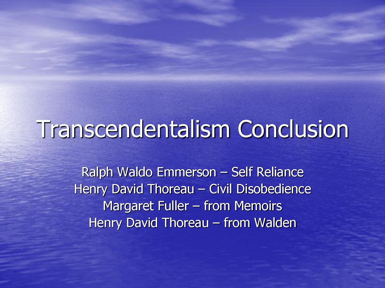 nature essay transcendentalism