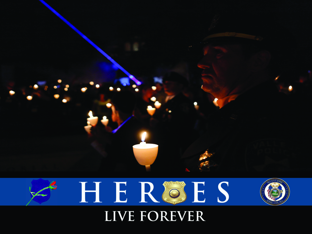 Hero in the law enforcement
