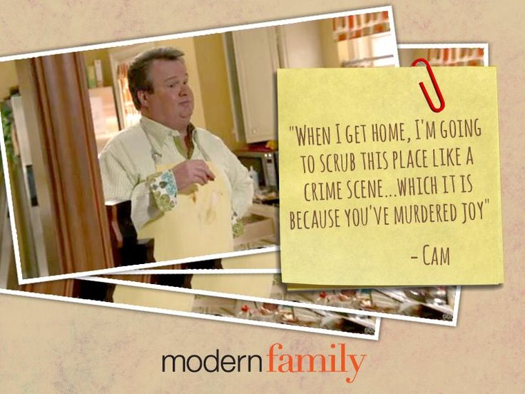 Cam from modern family quotes quotesgram for Modern house quotes