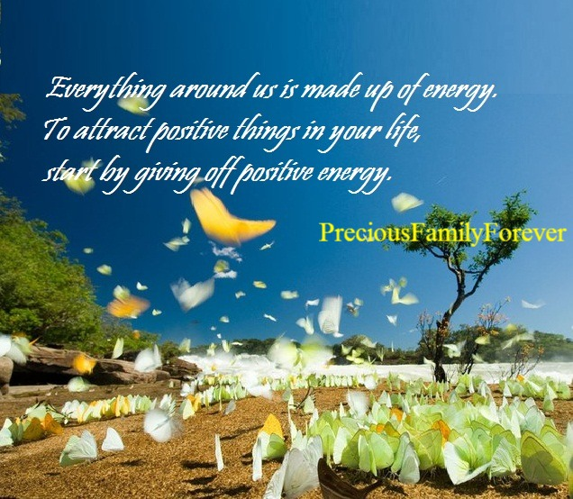 how to give positive energy to someone