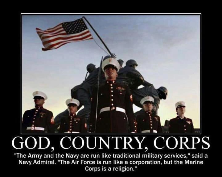 Awesome Marine Corps Quotes Quotesgram