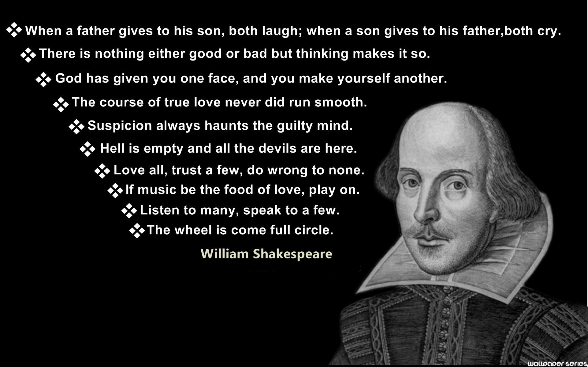 Top 10 Shakespeare Quotes. QuotesGram