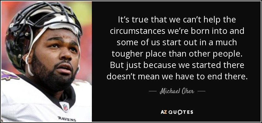 michael oher personality theory paper