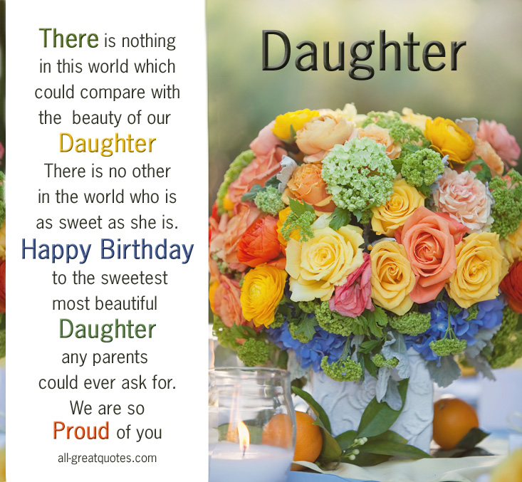 facebook quotes about daughters birthday quotesgram