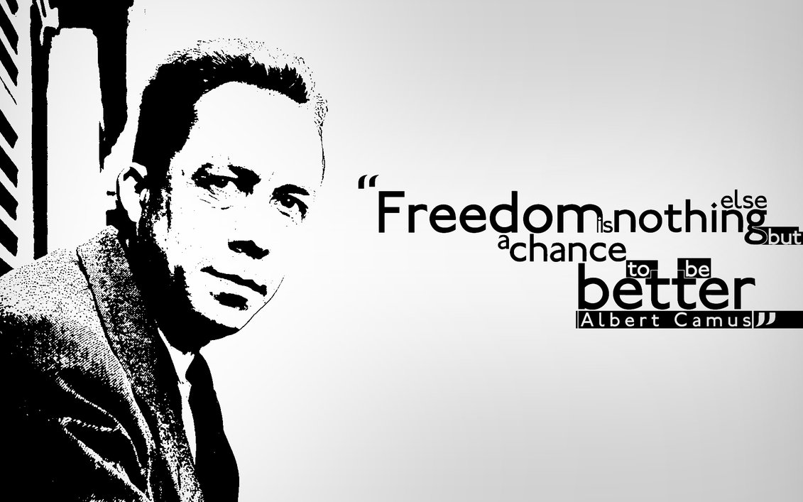 analysing albert camus quotes on good and evil Albert camus quotes share the best famous albert camus quotes  there is the good and the bad, the great and the low, the just and the unjust  to assert in .