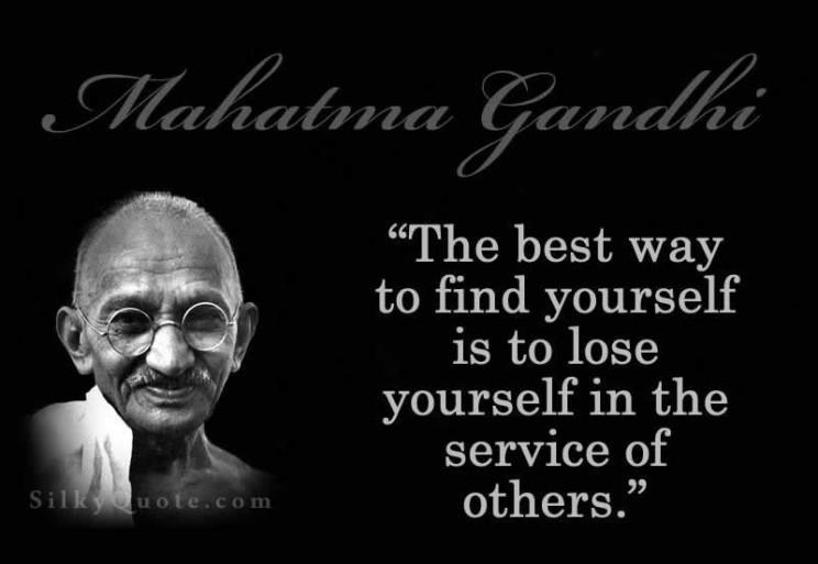 Gandhi Quotes: Leadership Quotes By Gandhi. QuotesGram