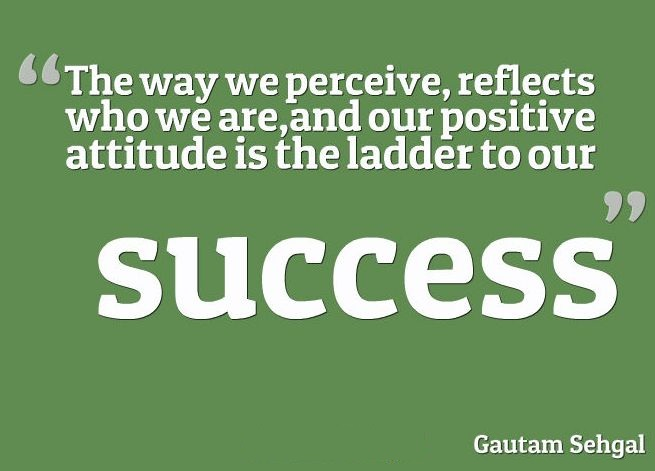 quotes about success and attitude quotesgram