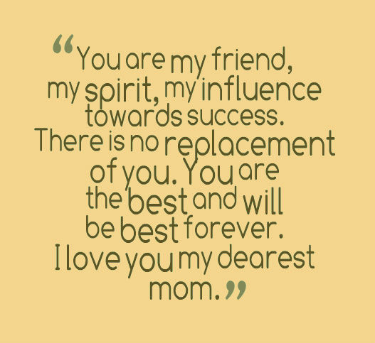 Famous Thank You Mom Quotes. QuotesGram