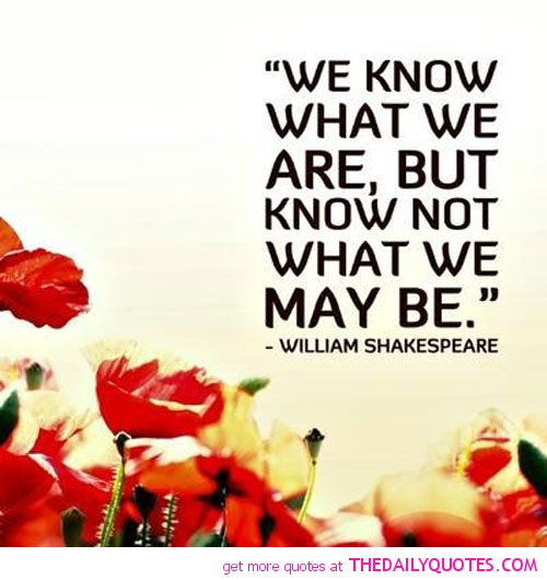 William Shakespeare Poetry Quotes