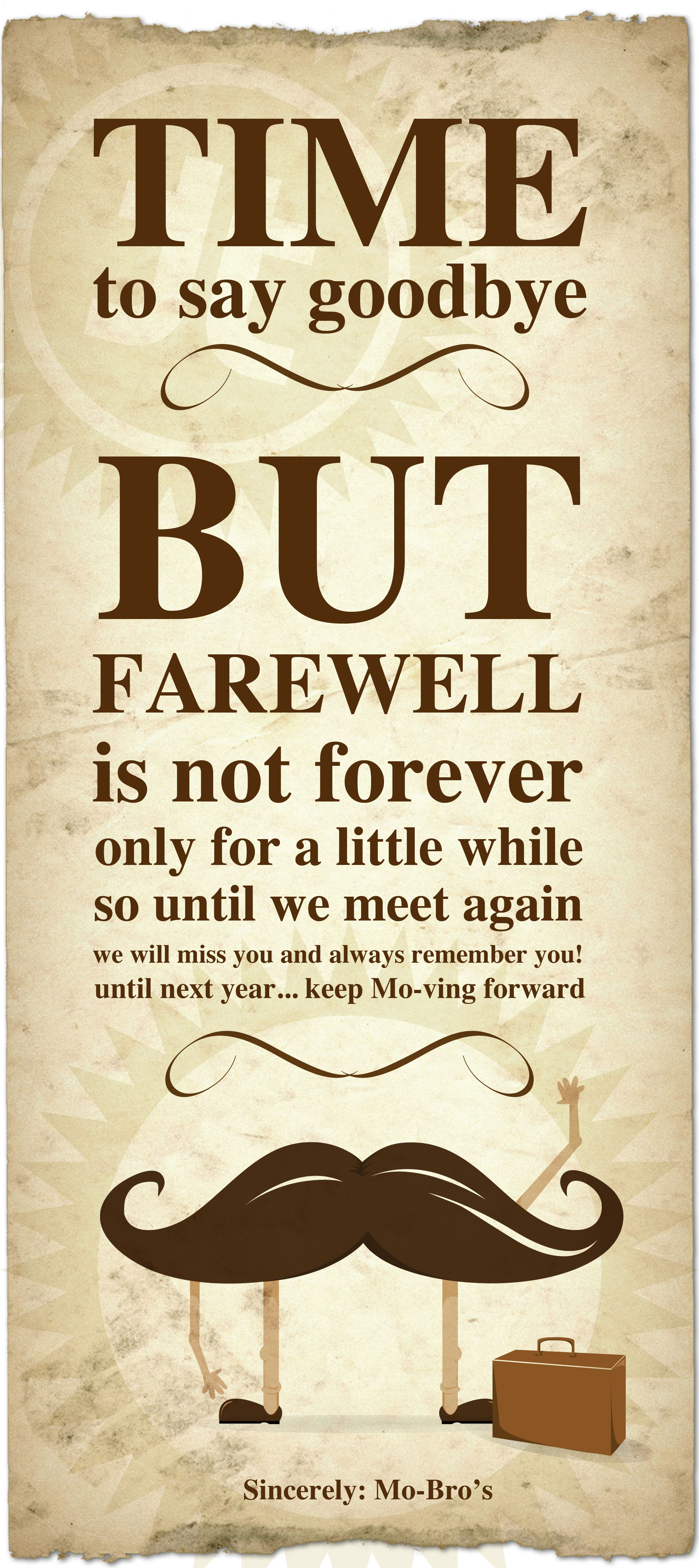 farewell card quotes quotesgram