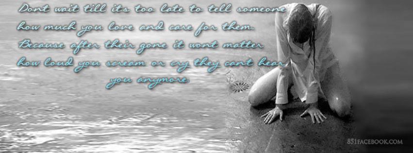 Sad Mother Quotes Facebook Covers Quotesgram