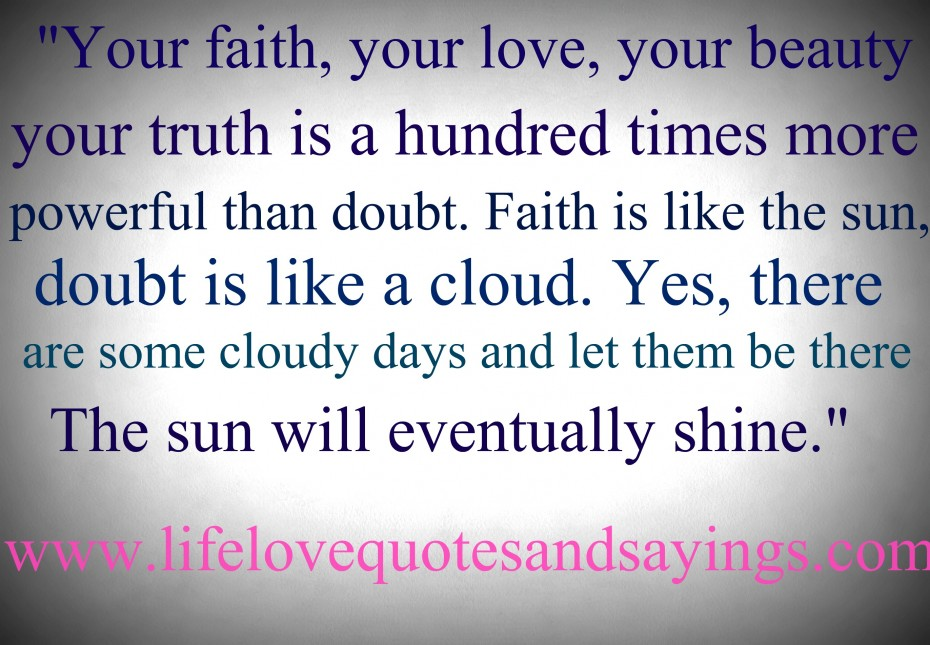 Love Quotes 150 Quotes About Love: Quotes About Love And Faith. QuotesGram
