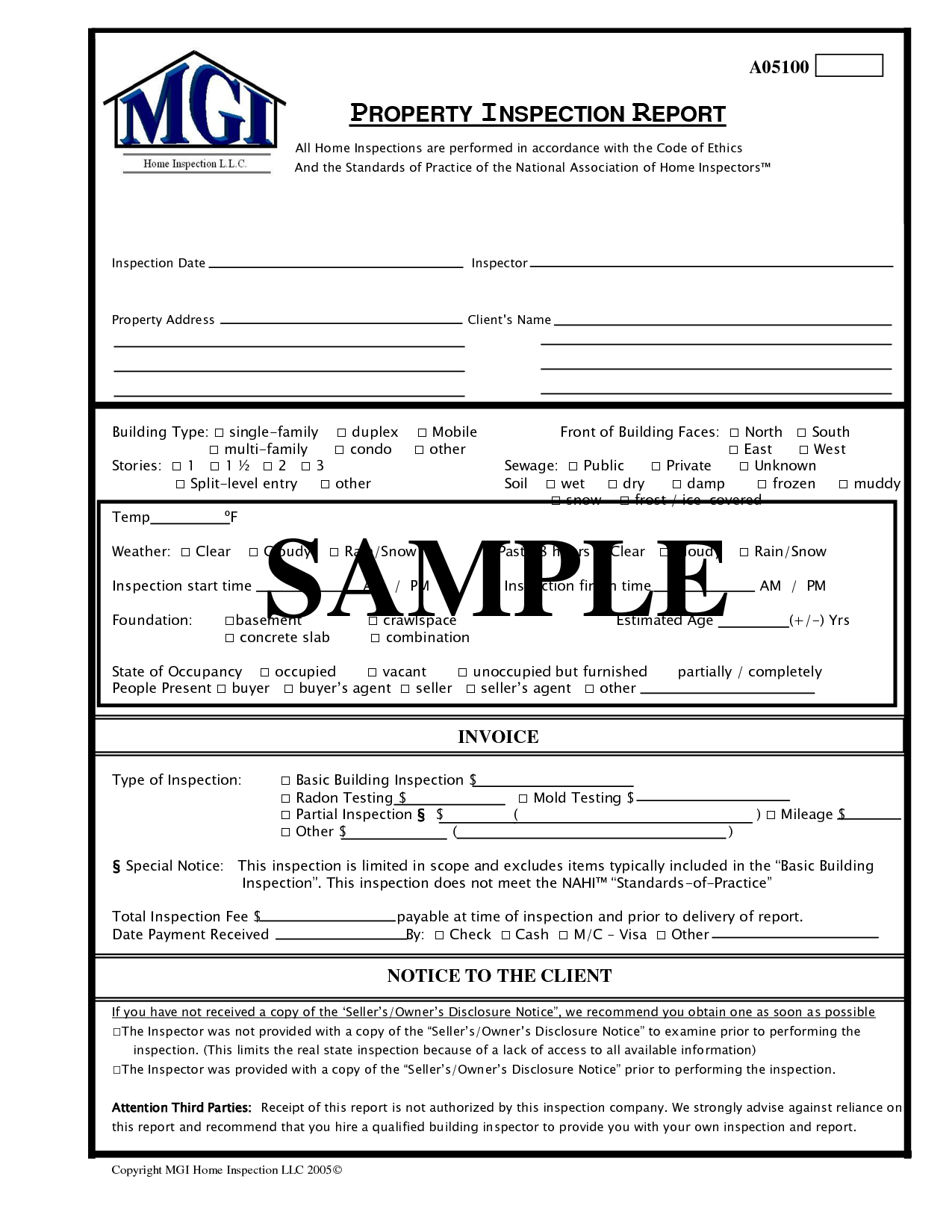 Mold Inspection Report Template Pictures to Pin – Home Inspection Report Template