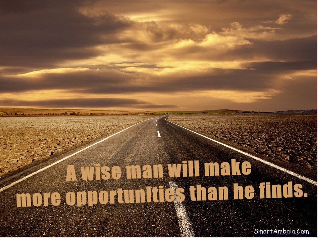 Wise Quotes: Wise Quotes About Opportunity. QuotesGram
