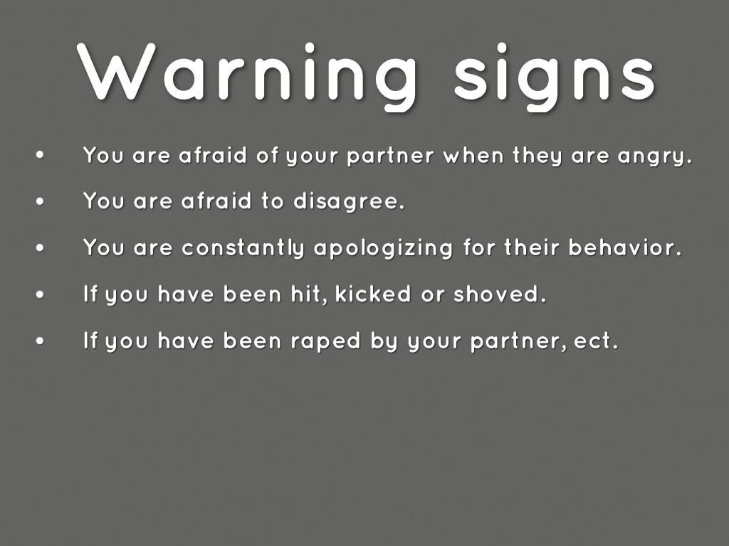 Relationship Quotes: Warning Signs Relationship Quotes. QuotesGram