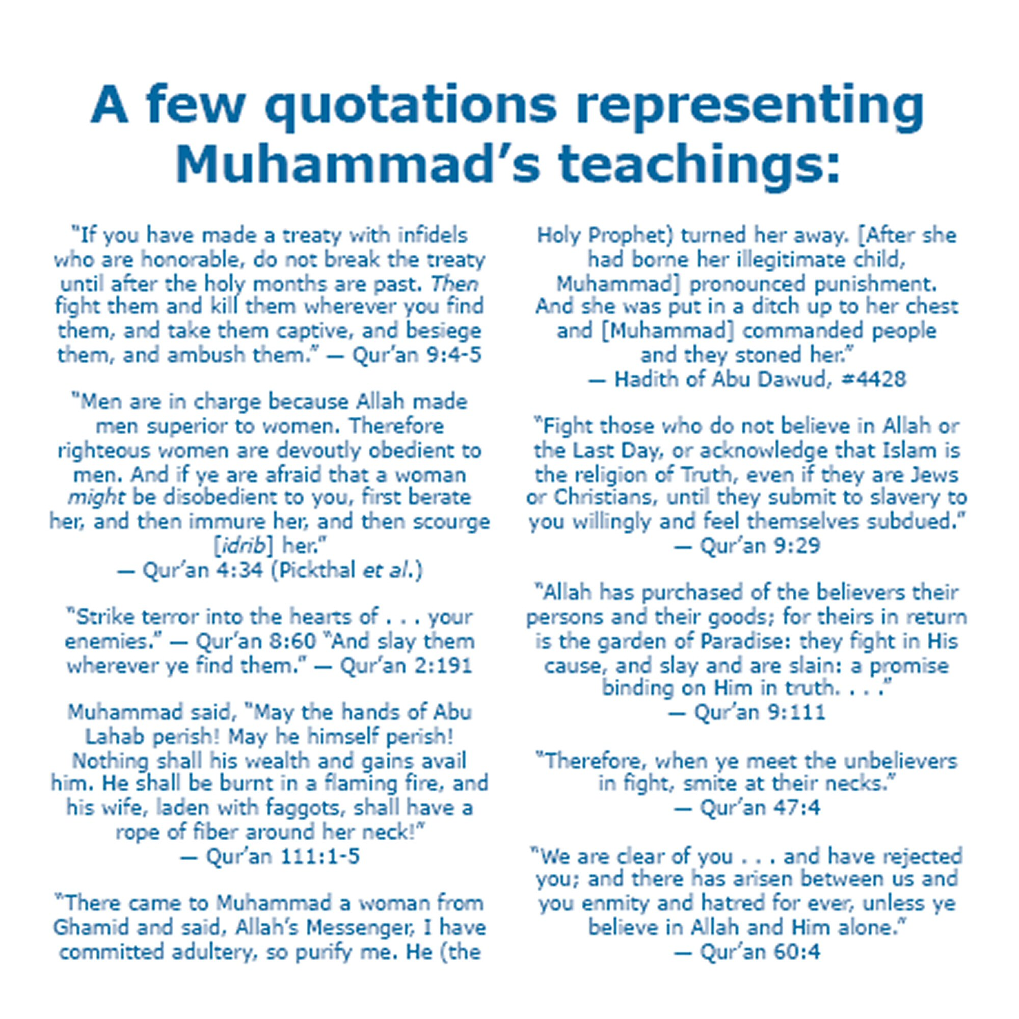 Teachings Of The Quran - Lawteched