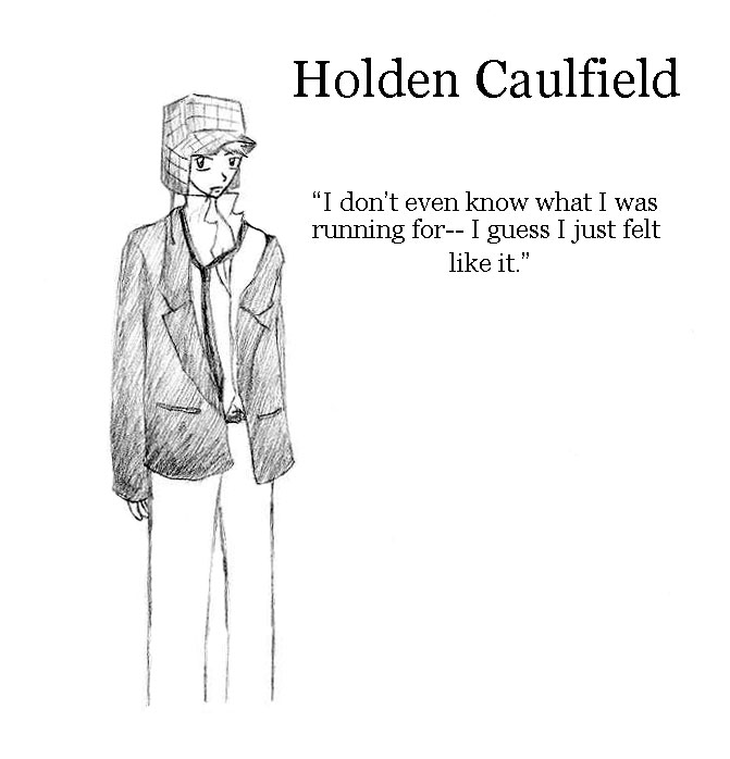 holden claufied a misfit in society His retreat from popular society has made for to be a misfit who can also write like j d salinger—a holden caulfield who publishes in the new yorker.