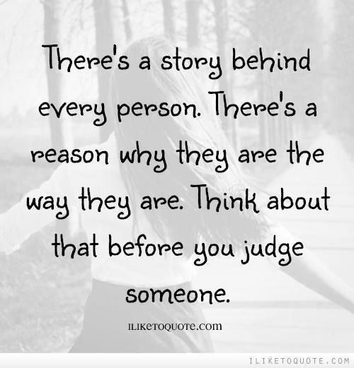 judging yourself Judge is a verb and it means 1 what does it mean to judge someone because the fact remains that the only person you can rightfully judge is yourself.