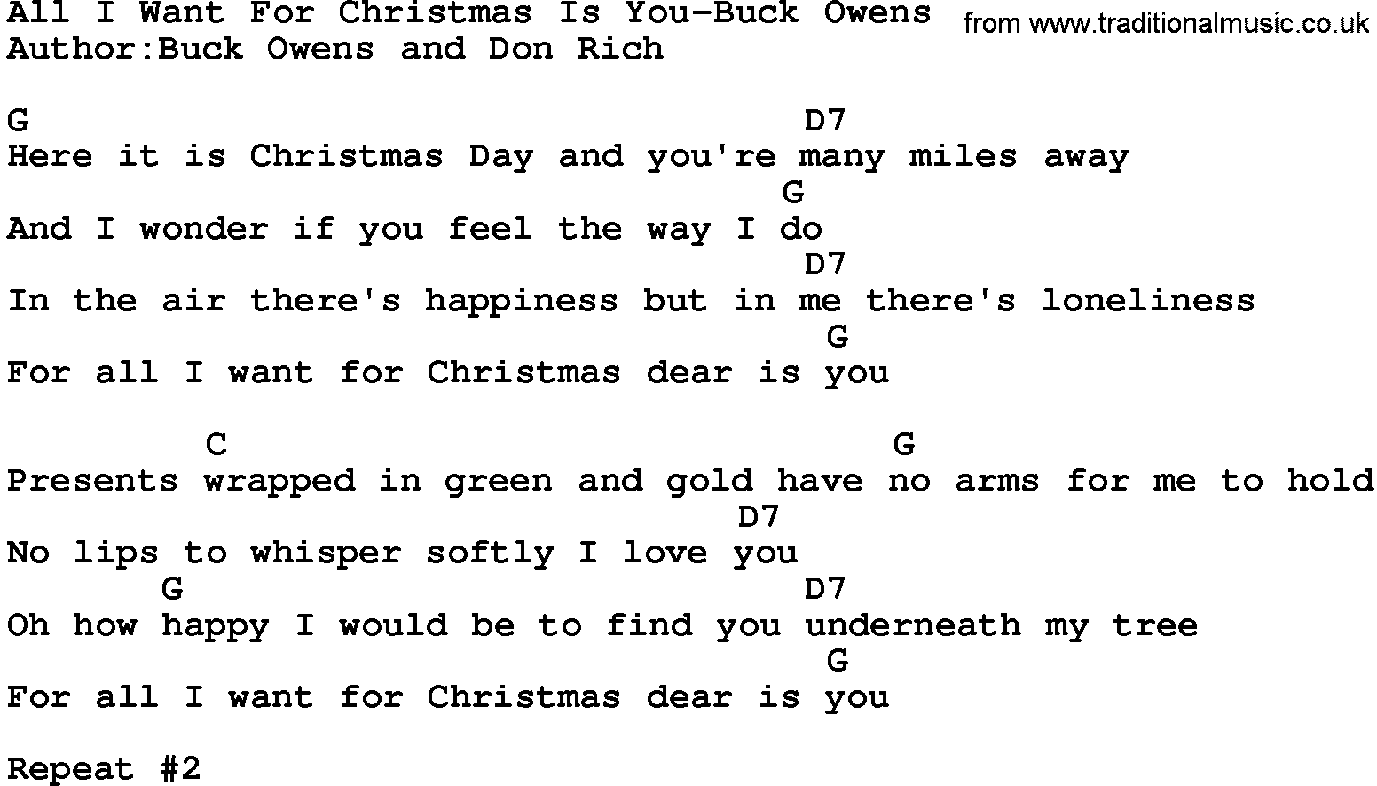 For Christmas Is All I Want You Quotes. QuotesGram