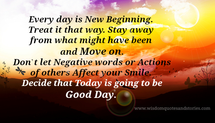 Today Is Going To Be A Great Day Quotes. QuotesGram