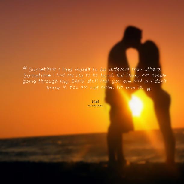 Going Through Life Alone Quotes. QuotesGram
