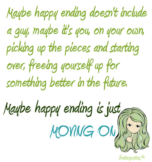 Inspirational Quotes On Life: Sad Quotes About Moving On. QuotesGram